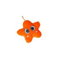 knuffel ster 16 cm pluche oranje