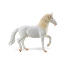 paard Camarillo junior 15,5 cm rubber wit