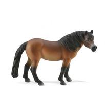 boerderij Exmoor pony 11 cm junior rubber bruin