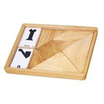 tangram vormenspel hout 7-delig