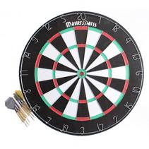 dartbord 45 cm met 6 pijlen