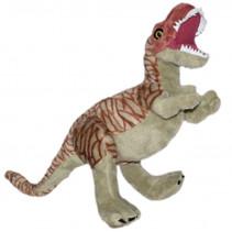 knuffel NHM T-rex 48 cm pluche bruin