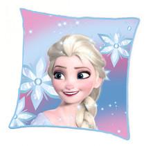 kussen Frozen 2 meisjes 45 x 45 cm polyester roze/wit