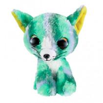 knuffel Cat Clover junior 15 cm pluche groen