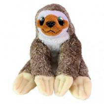 knuffel Sloth Coffe junior 15 cm pluche bruin