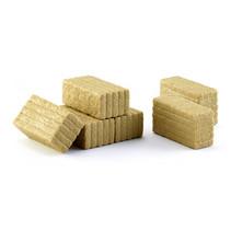 miniatuurbalen Square Bales 66 mm bruin 6 stuks