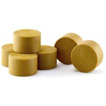 miniatuurbalen Round Bales 54 mm bruin 6 stuks