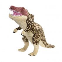 handpop NHM T-Rex 75 cm pluche bruin