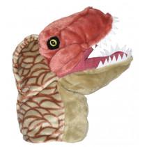 handpop NHM T-Rex 32 cm pluche bruin