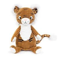 knuffel tijger junior 22 cm pluche bruin