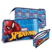 etui Spider-Man junior 22 x 13 cm polyester lichtblauw