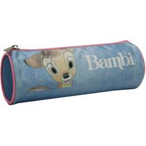 etui Bambi meisjes 22 x 7 cm polyester roze