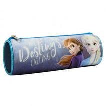 etui Frozen meisjes 22 x 7 polyester/nylon donkerblauw