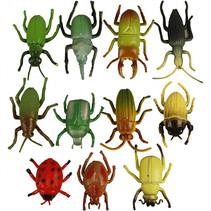 decoratie realistische insecten multicolor 10 stuks
