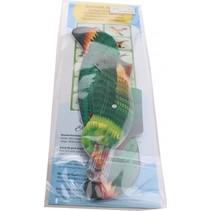 werpvogel 20 cm groen 10