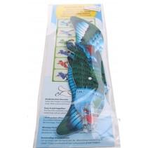 werpvogel 20 cm blauw 1