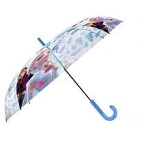 kinderparaplu Frozen 2 PVC 45 cm wit/blauw