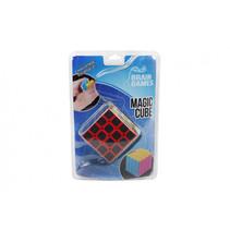 puzzelspel Magic Cube junior 8 x 8 cm zwart