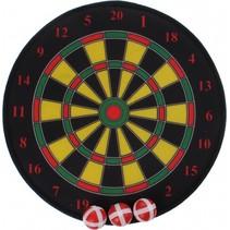 dartbord klittenband 35 cm 4-delig