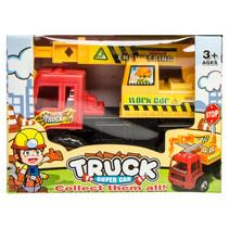 truck Super Car jongens 14 cm rood/geel