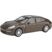 schaalmodel Porsche Panamera S bruin
