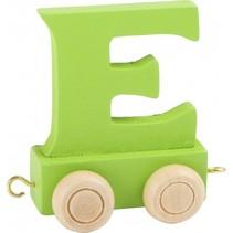 treinletter E groen 6,5 cm