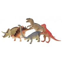 speelset dinosaurussen 5-delig