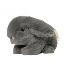 knuffel Clover Bunny 18 cm grijs