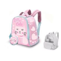 kinderrugzak Little Cats junior 6 liter neopreen roze