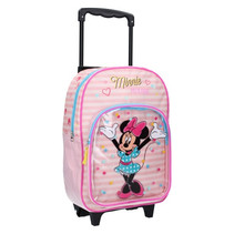 trolley rugzak Minnie Mouse meisjes 17 liter polyester roze
