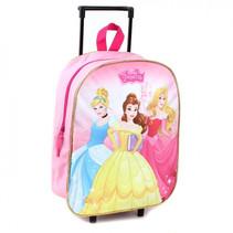trolley rugzak meisjes 15 liter roze