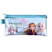 schrijfset Frozen 2 meisjes 19 cm blauw 5-delig