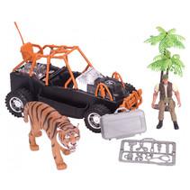 speelset Tiger Rescue junior 6-delig