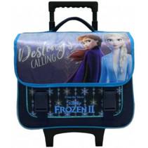 trolley-rugzak Frozen II meisjes 38 cm polyester blauw