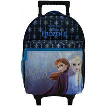 trolley-rugzak Frozen II meisjes 41 cm polyester blauw