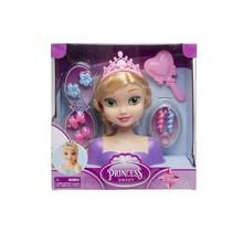 kaphoofd prinses meisjes 21,5 cm blond 9-delig