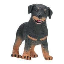 huisdieren Rottweiler puppy junior 7 cm zwart/bruin