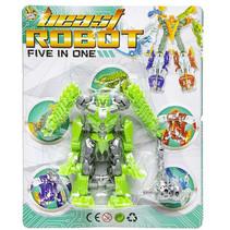 speelfiguur Beast Robot jongens 12 cm groen