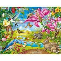 legpuzzel Maxi Bloemen & Bijen 55 stukjes