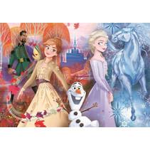 legpuzzel Frozen II 22,5 x 30 cm karton 15 stukjes