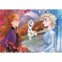 legpuzzel Frozen II karton 30 x 22,5 cm 15 stukjes