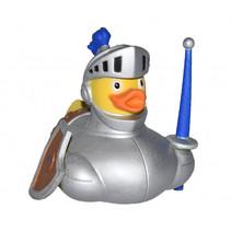 badeendje ridder junior 10 cm grijs/geel