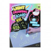glow in the dark tekenbord XXL 2-delig