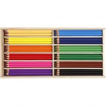 kleurpotloden multicolor 144 stuks