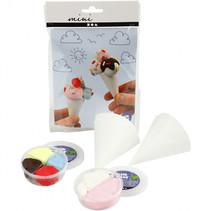 Mini Creatieve Set - ijsjes 1 set