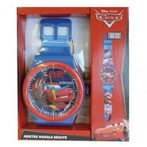 Klok Horloge Cars Blauw