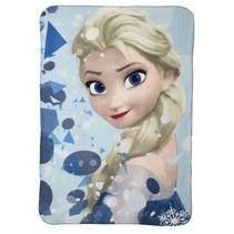 Frozen Elsa fleece-deken blauw 100 x 140 cm