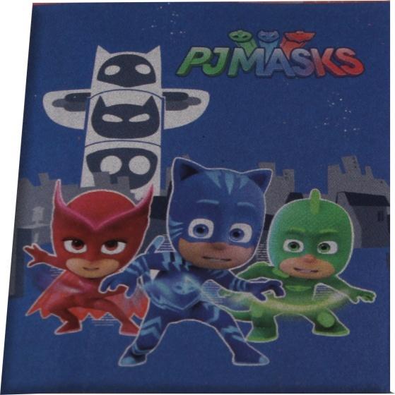 Disney fleece-deken PJ Masks 100 x 140 cm donkerblauw