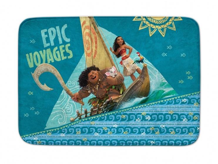 Achoka vloerkleed Moana Epic Voyages 70 x 95 cm blauw