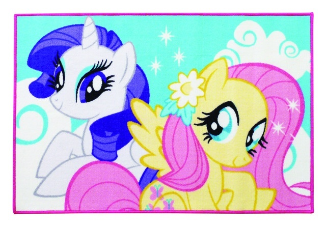 My Little Pony vloerkleed meisjes multicolor 120 x 80 cm